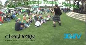Cleghorn Celtic Rock at 30a St Patricks Festival