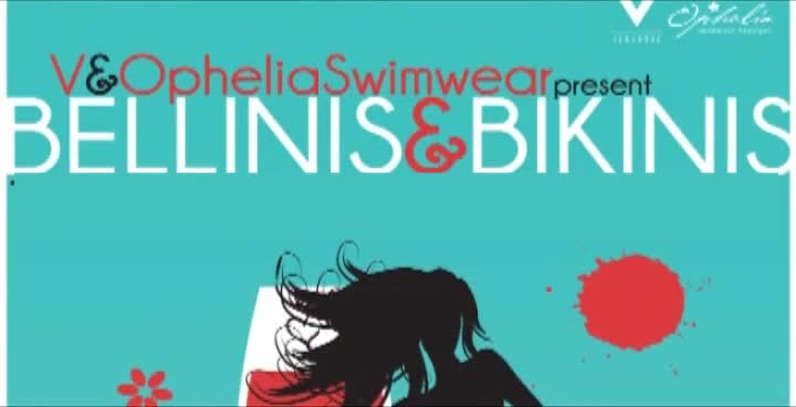 OPHELIA-SWIMWEAR BELLINIS-n-BIKINIS FASHION-SHOW on 30a