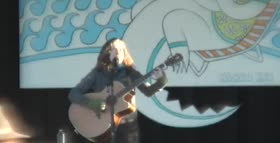 Ani DiFranco at 30a Songwriters Gulf Place