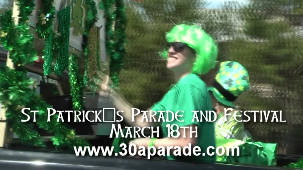 St Patricks Parade and Festival on 30A
