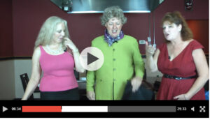 The 3 Julias Cooking Show at VKI Japanese Steakhouse 30A