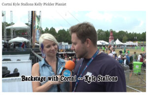 Backstage with Cortni Kyle Stallons Kelly Pickler Pianist
