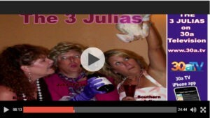 3 Julias Cooking Show Iron Chef Challenge with guest Shelley Swanger