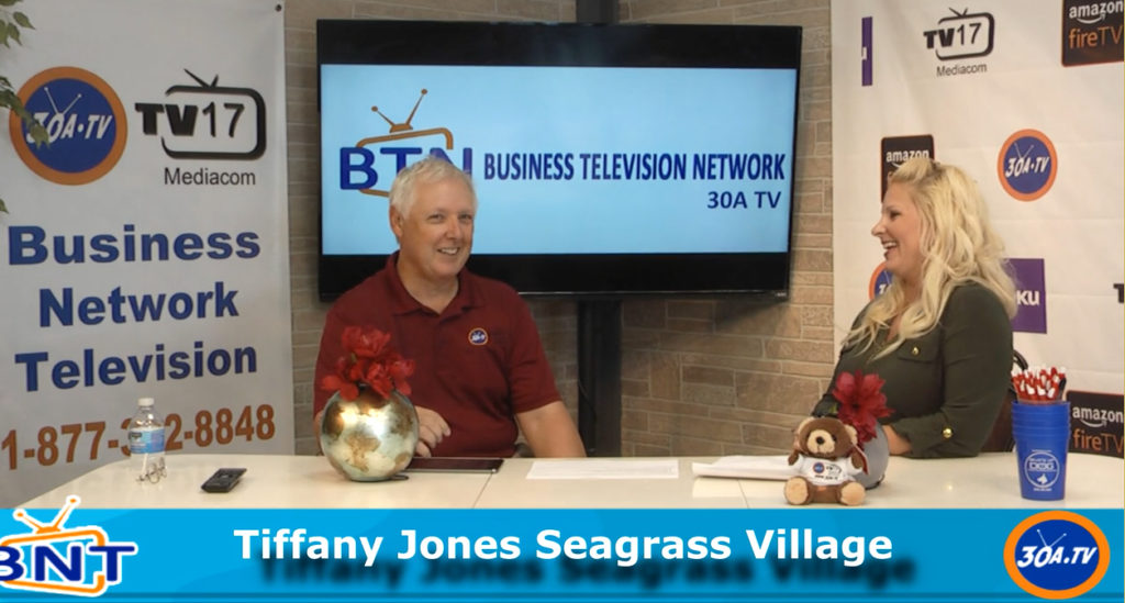 Tiffany Jones from Seagrass Village PCB on Business Network Television