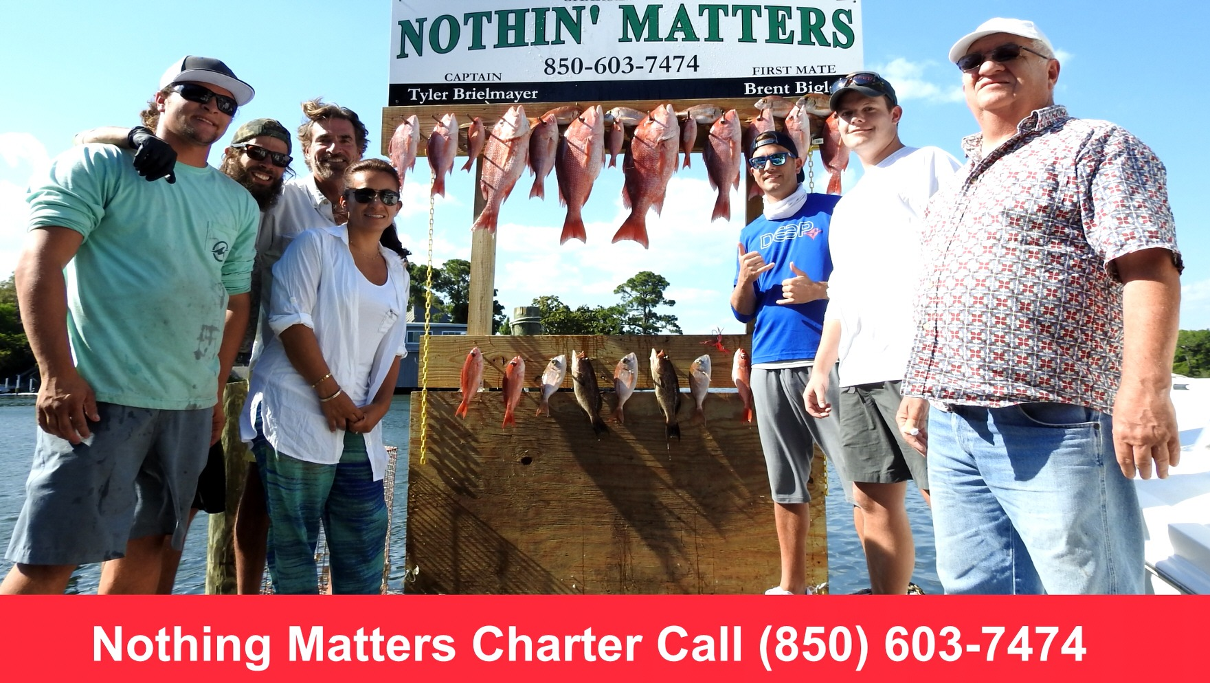 Nothing matters fishing charters call 850 603 7474 for Grayton beach fishing charters
