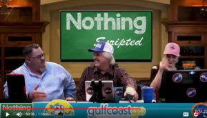 Nothing Scripted Gulf Coast Go Beach Billy Lifestyle show