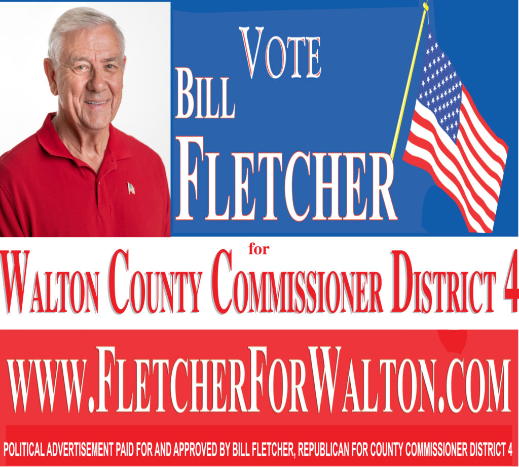 Bill Fletcher for Commissioner District 4  Walton County Election Aug 28th