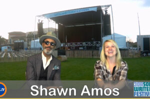 Backstage With Cortni The Reverend Shawn Amos at Songwriters Festival