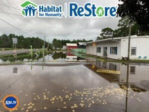 Habitat ReStore in Walton County was left with 19 inches of standing water