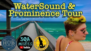30A Misfits tours two communities on 30A  WaterSound and Prominence