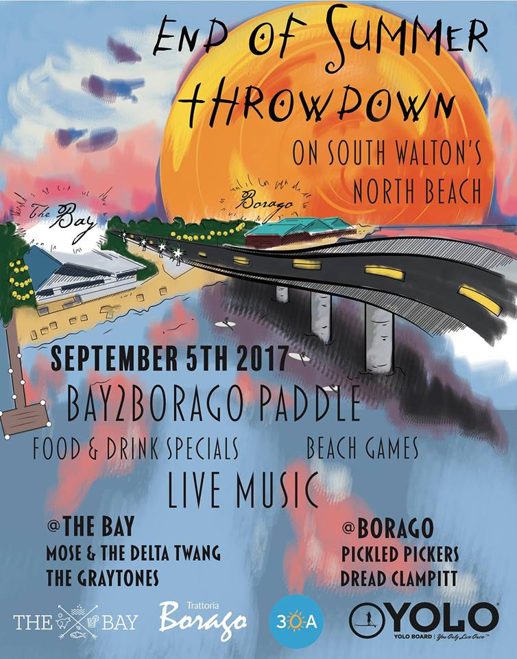 End of Summer Throw Down Sept 5th