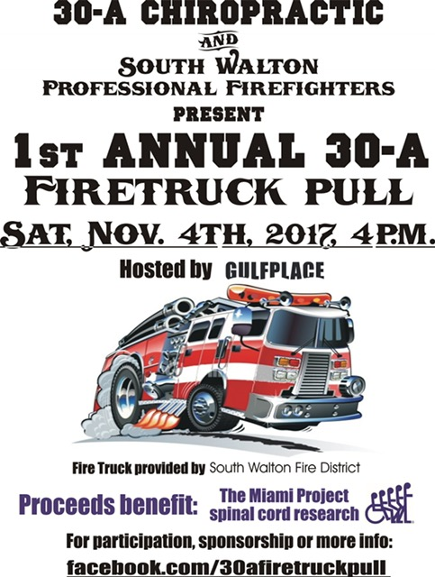 First Annual Firetruck Pull