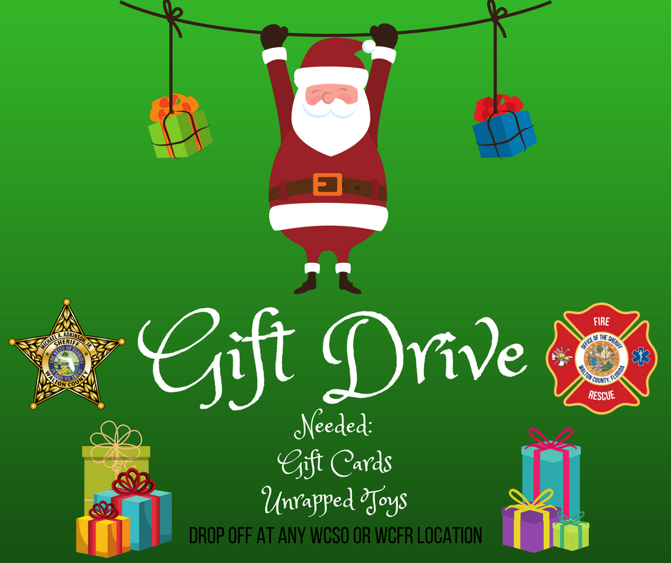 WCSO LAUNCHES GIFT DRIVE FOR SANTA PATROL