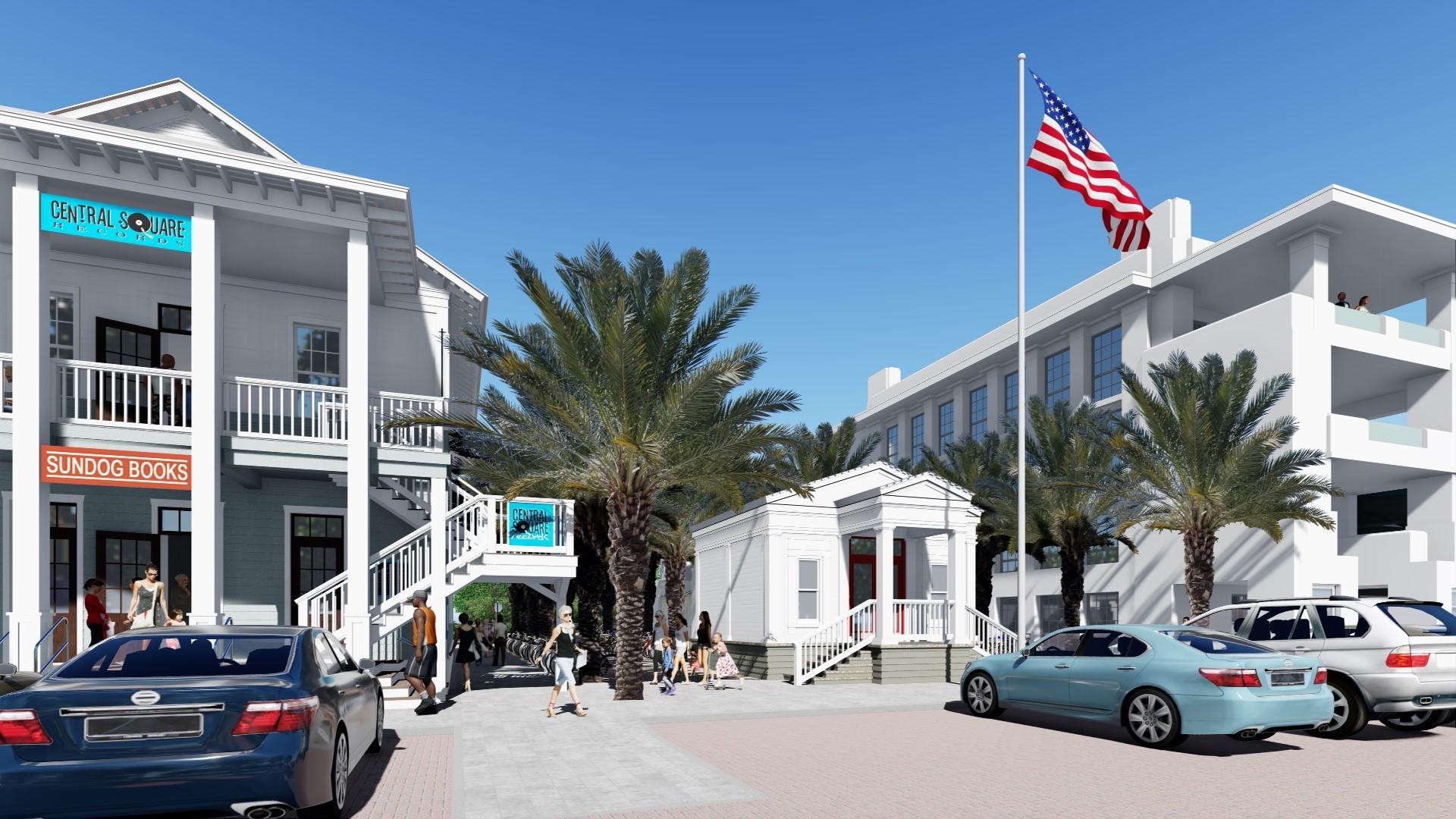 30A Seaside Post Office Plaza