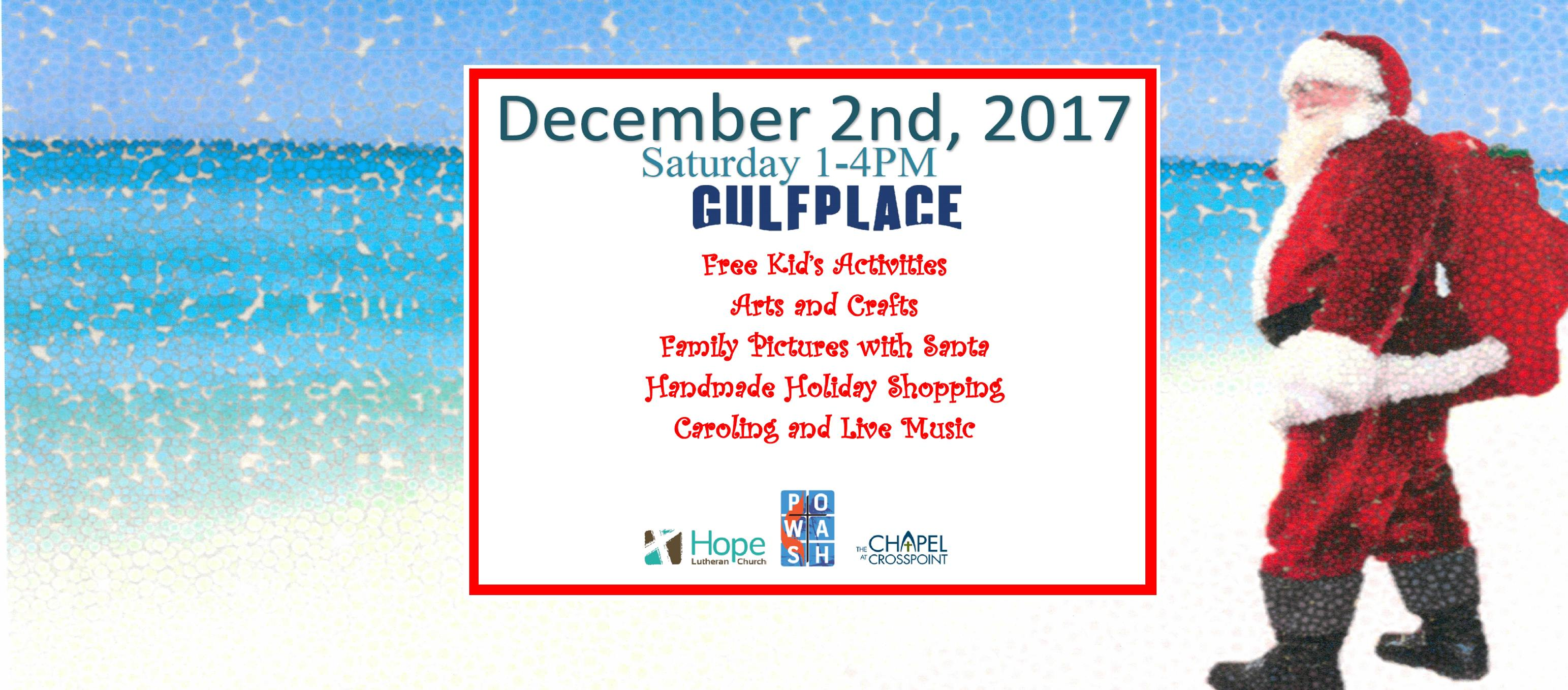 Third Annual Christmas at the Beach #gulfplace