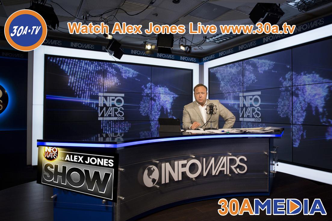 Alex Jones InfoWars Show   Live
