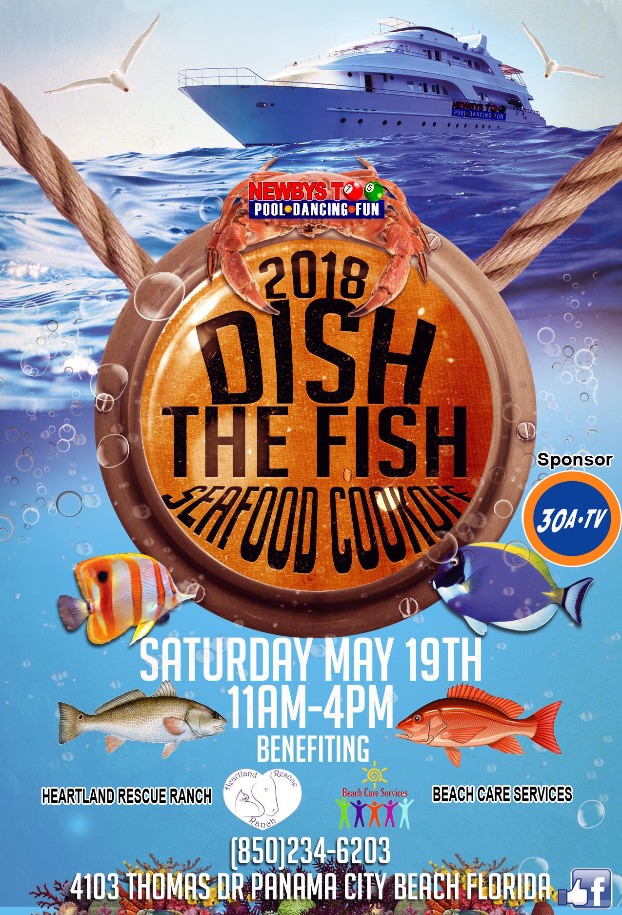 """2nd Annual """"DISH THE FISH"""" Seafood Cook Off"""
