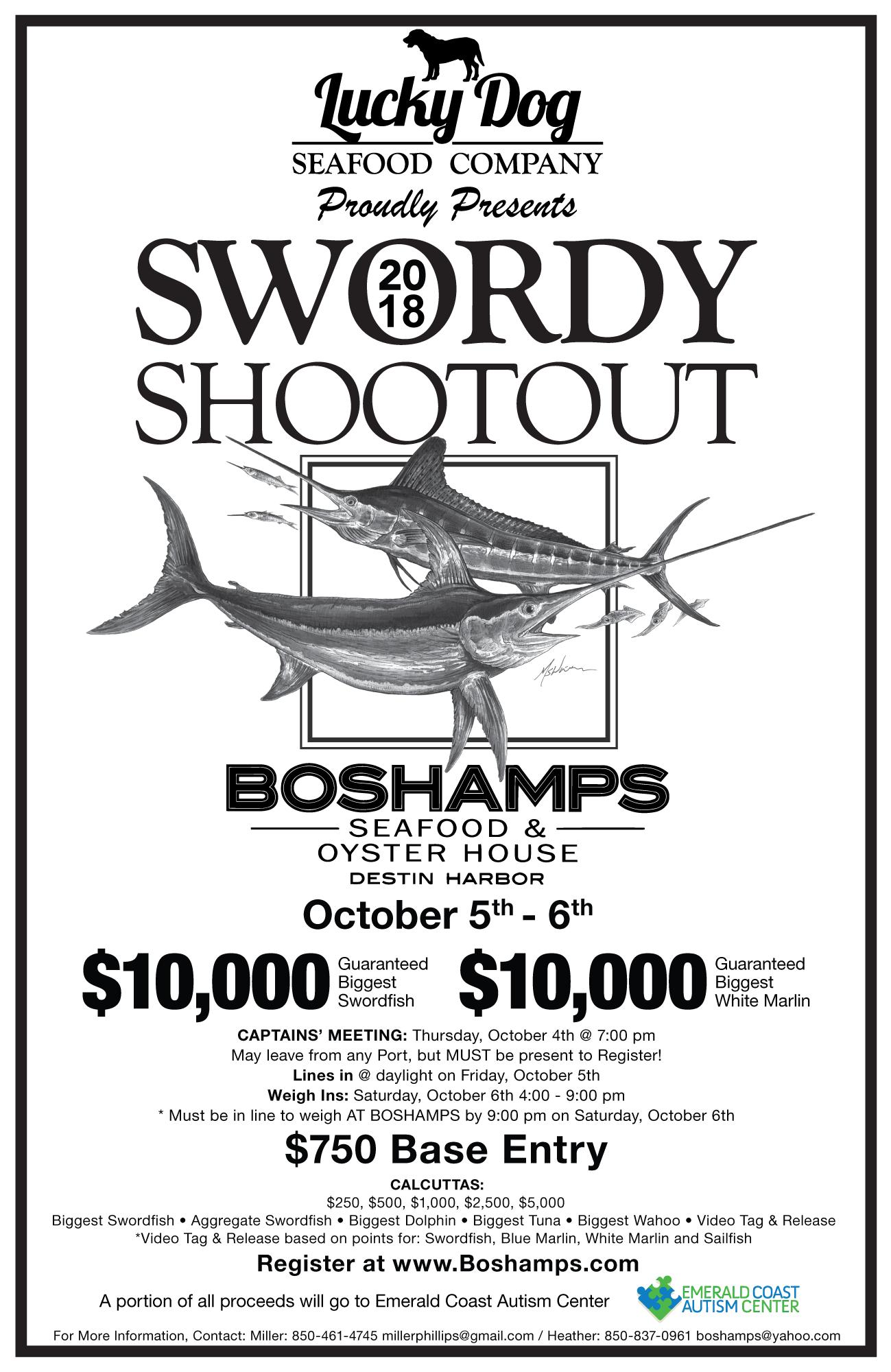 Boshamps Presents 3rd Annual Swordy Shootout
