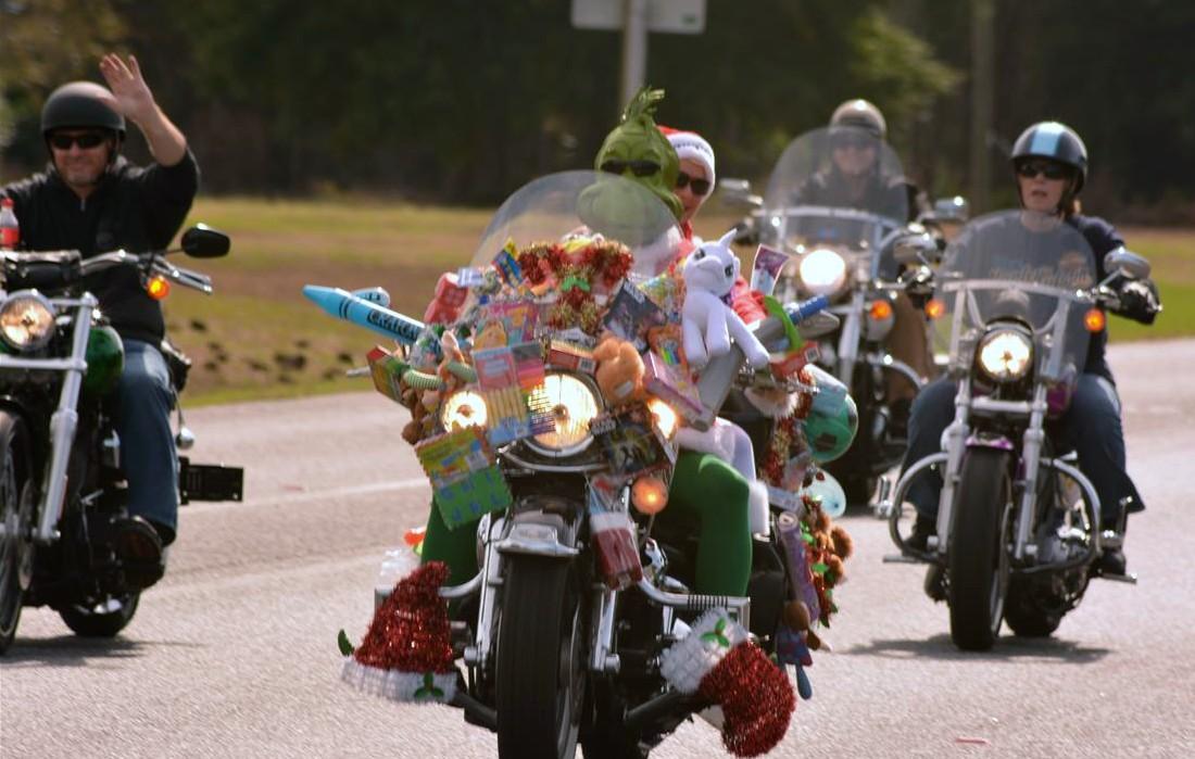 39th Annual Toys 4 Tots Ride on the Emerald Coast Sunday November 18