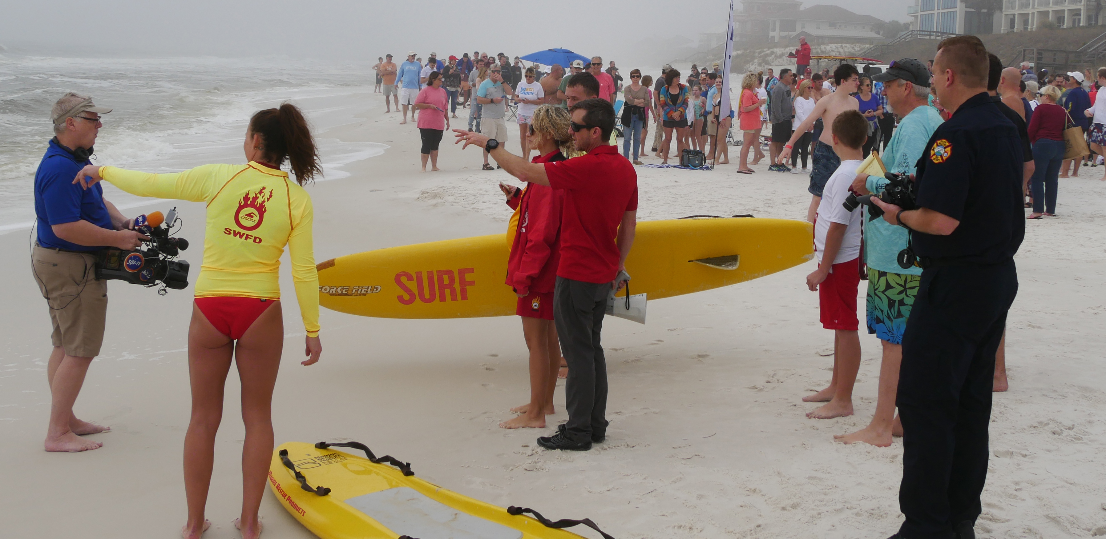 SWFD Awarded Beach Safety Contract