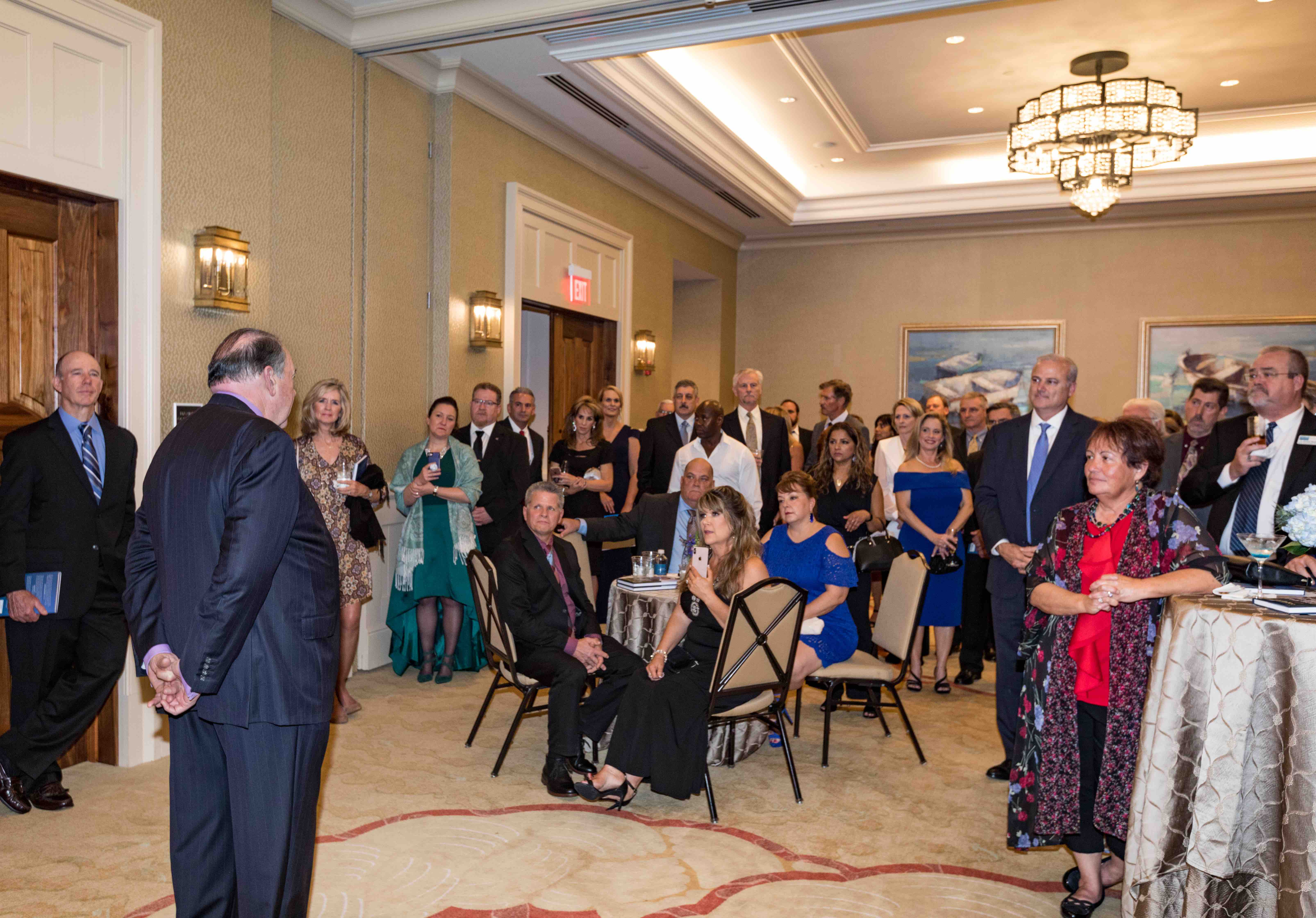 INAUGURAL BLUE & WHITE GALA EXCEEDS EXPECTATION