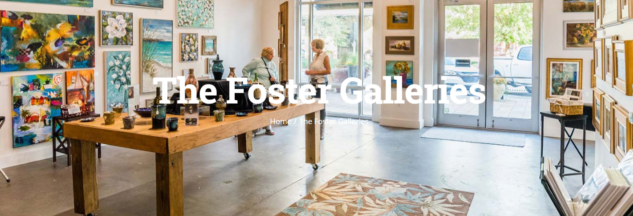 The Cultural Arts Alliance of Walton County AnnouncesFoster Gallery Summer Artists