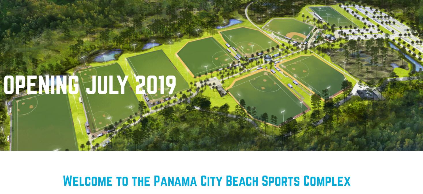 Panama City Beach's new Sports Complex
