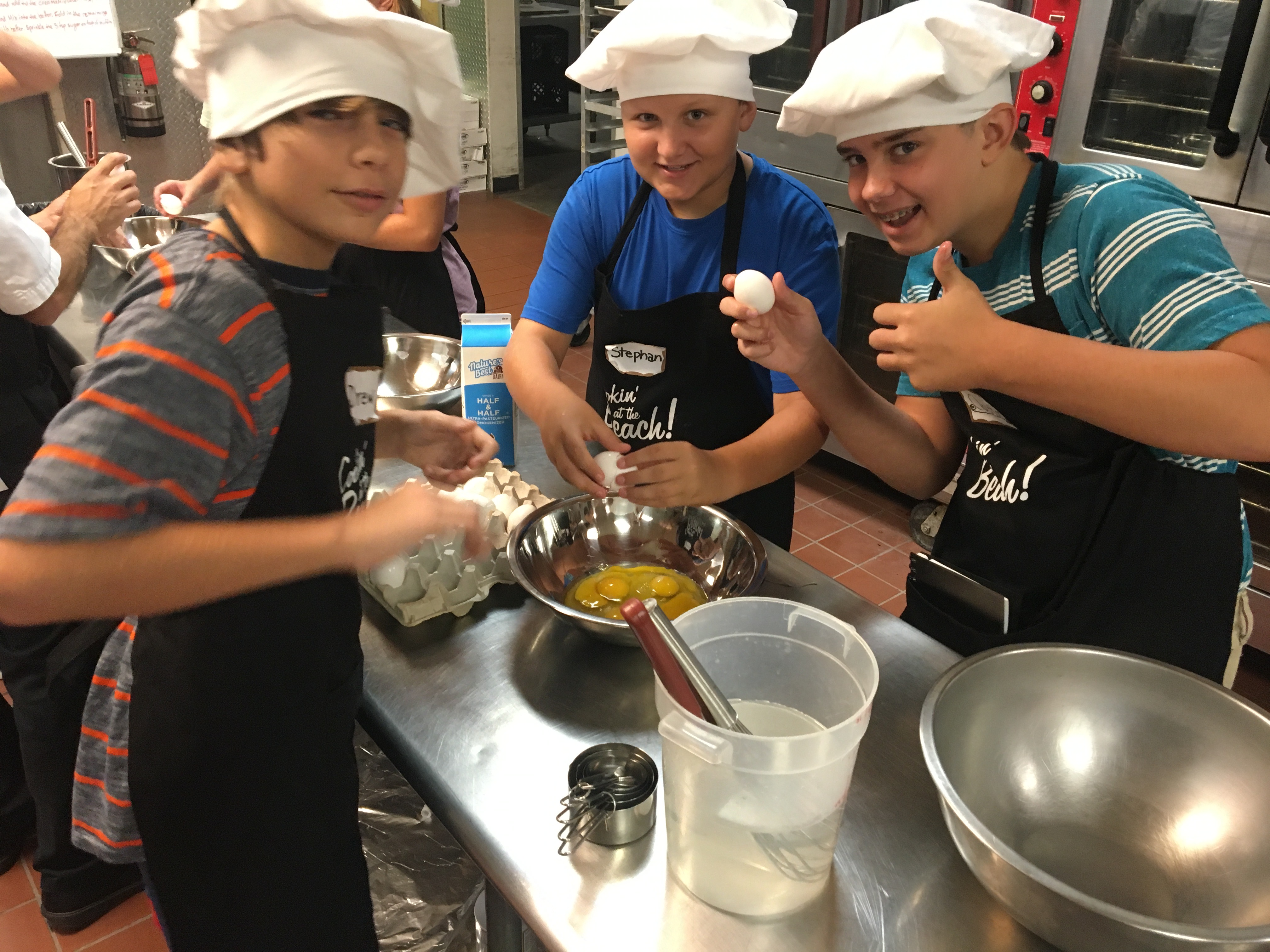 RESORT COLLECTION HOSTS KID'S COOKING CAMP