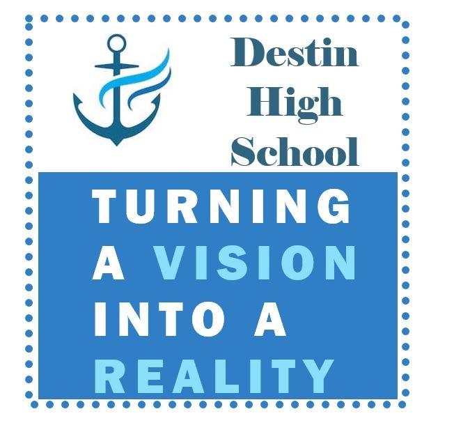 New Destin High School logo, school color and mascot design contest