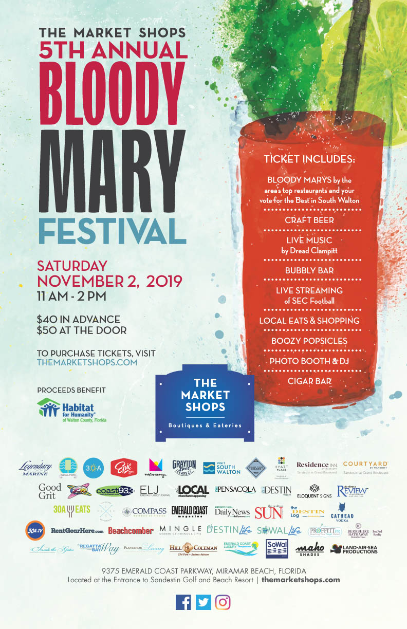 5th Annual Bloody Mary Festival is happening on November 2