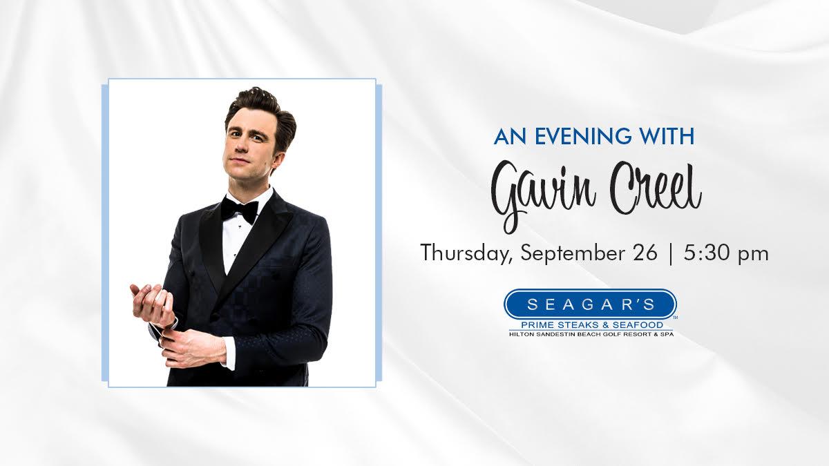 Sinfonia hosts Cabaret Dinner with Tony Award-Winner Gavin Creel