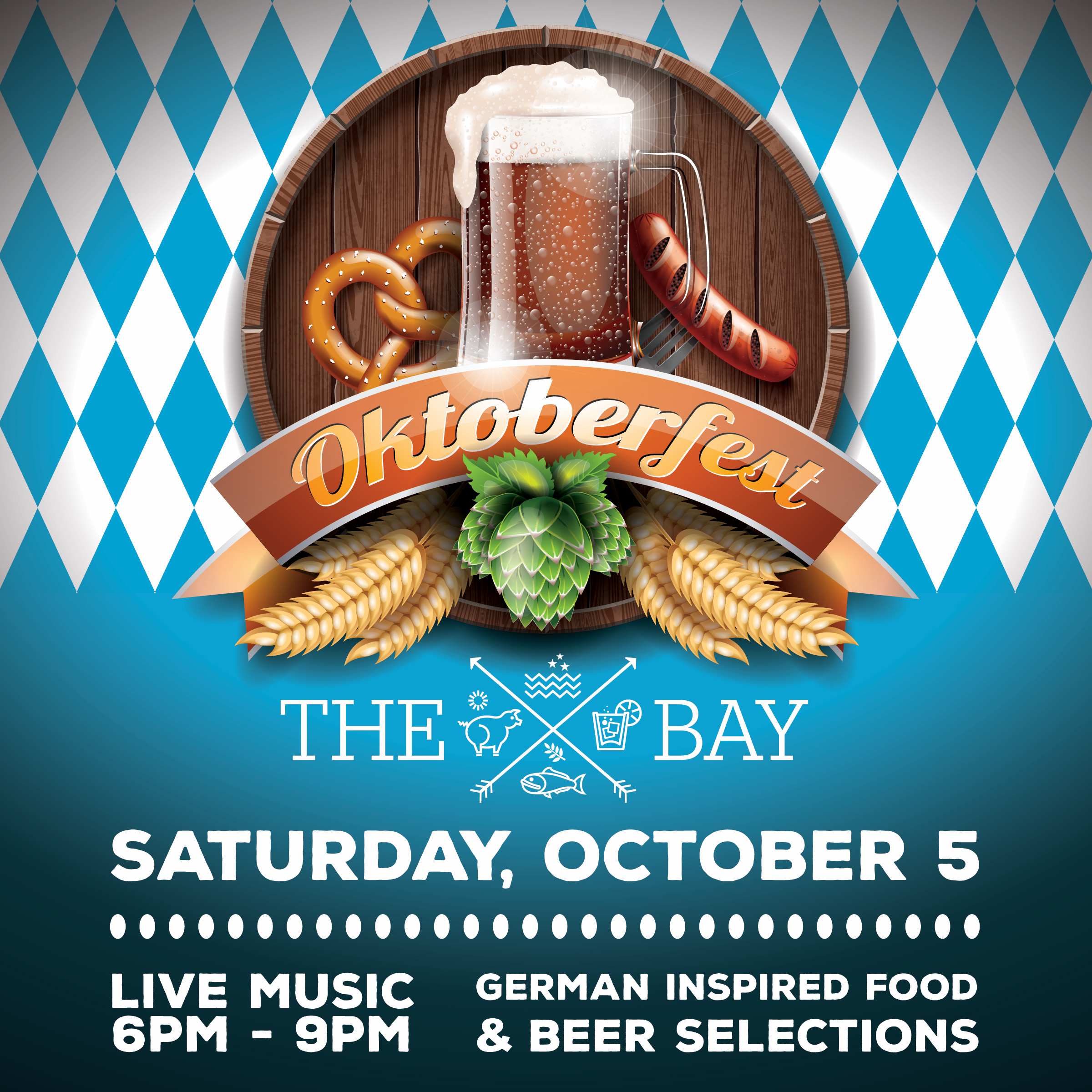 Oktoberfest at The Bay Promises to be an Authentic German Event