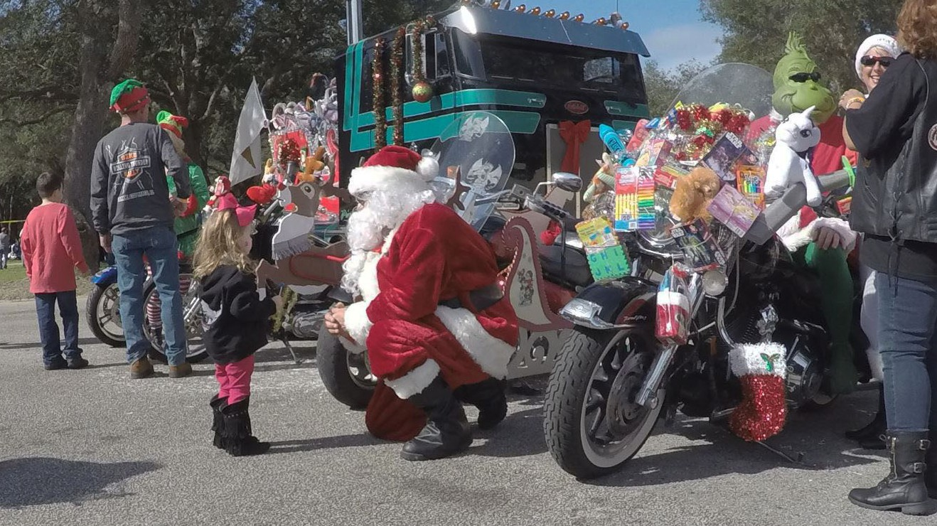 40th Annual Toys 4 Tots Ride on the Emerald Coast