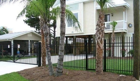 Security Fence & Gate