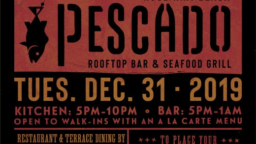 Pescado – New Years Eve Poster