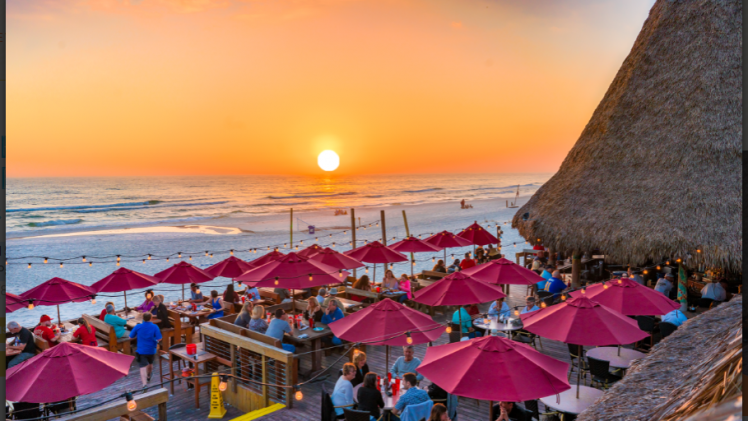 Sharky's Beach Front Restaurant & Tiki Bar