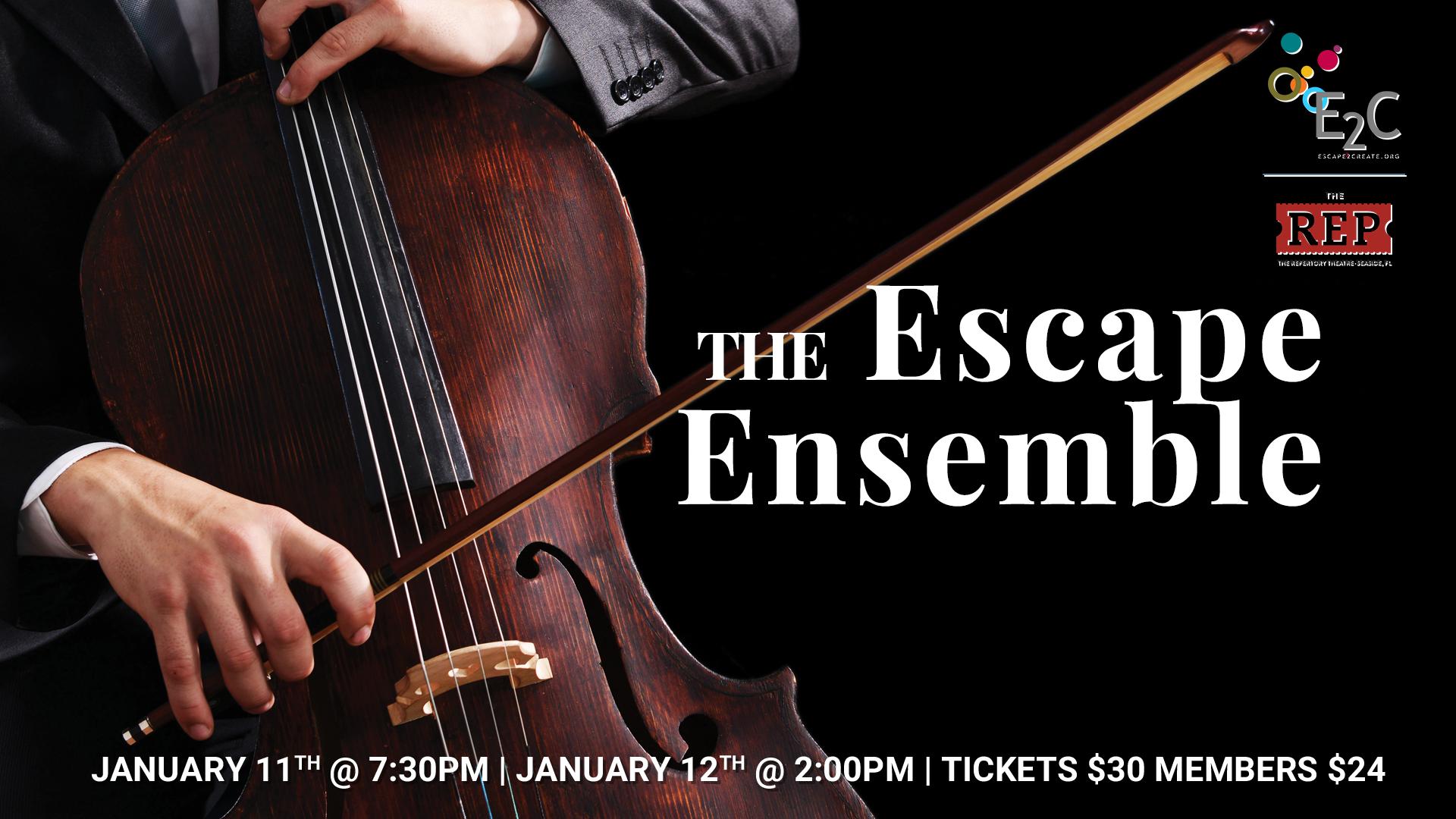 The Escape Ensemble The REP Theatre in Seaside
