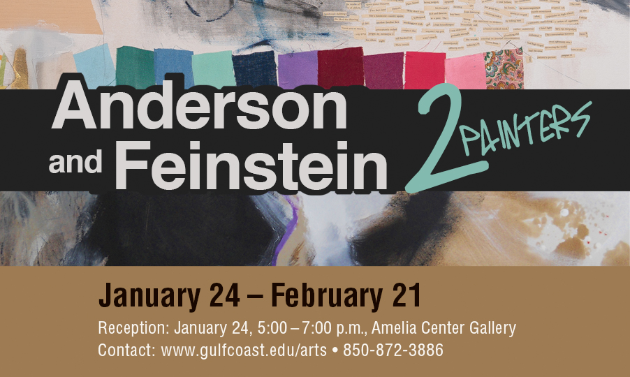 GCSC presents Anderson and Feinstein – Two Painters Art Exhibit