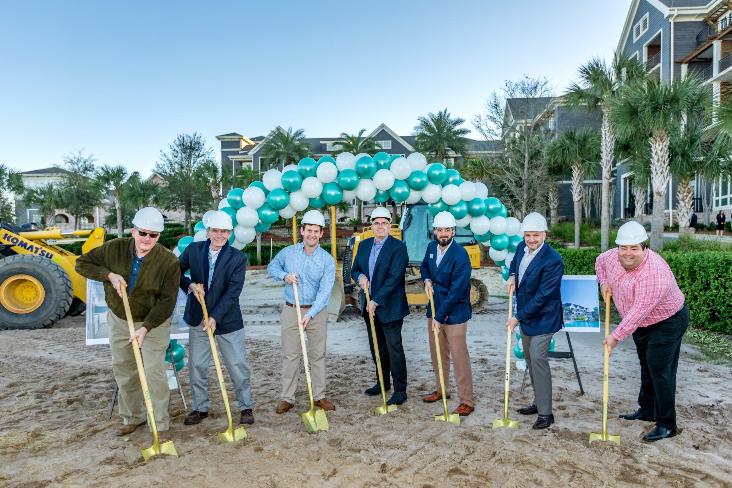Parkside at Henderson Beach Resort Officially Breaks Ground
