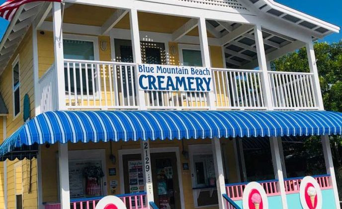 The Creamery of Blue Mountain Beach