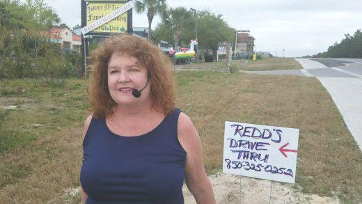 redds-Florida Restaurant Owner video singing at drive through goes viral
