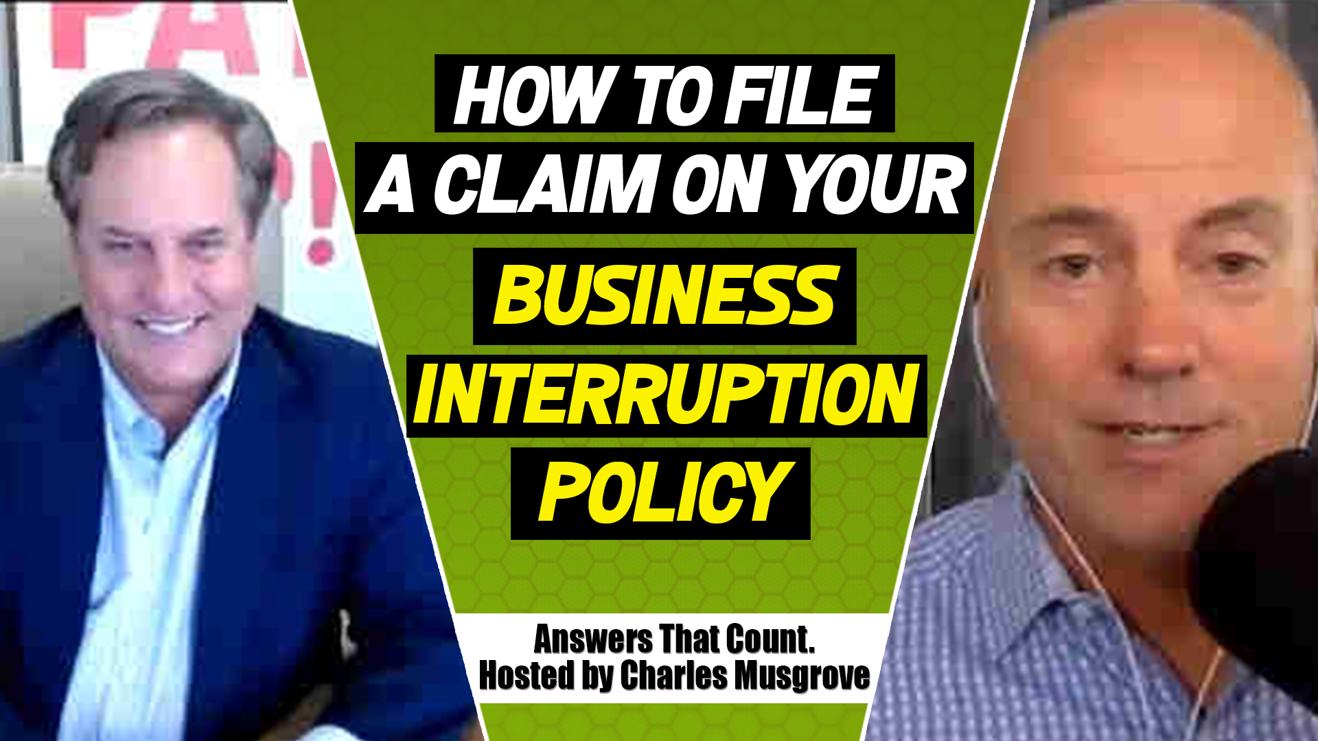How to File A Claim on your Business Interruption Policy Even with COVID