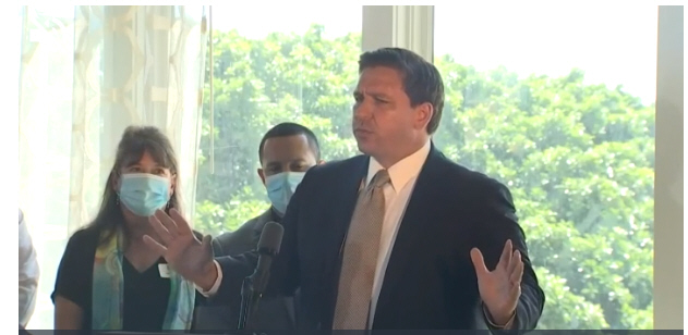 Governor Ron DeSantis announces Florida to enter Phase 3