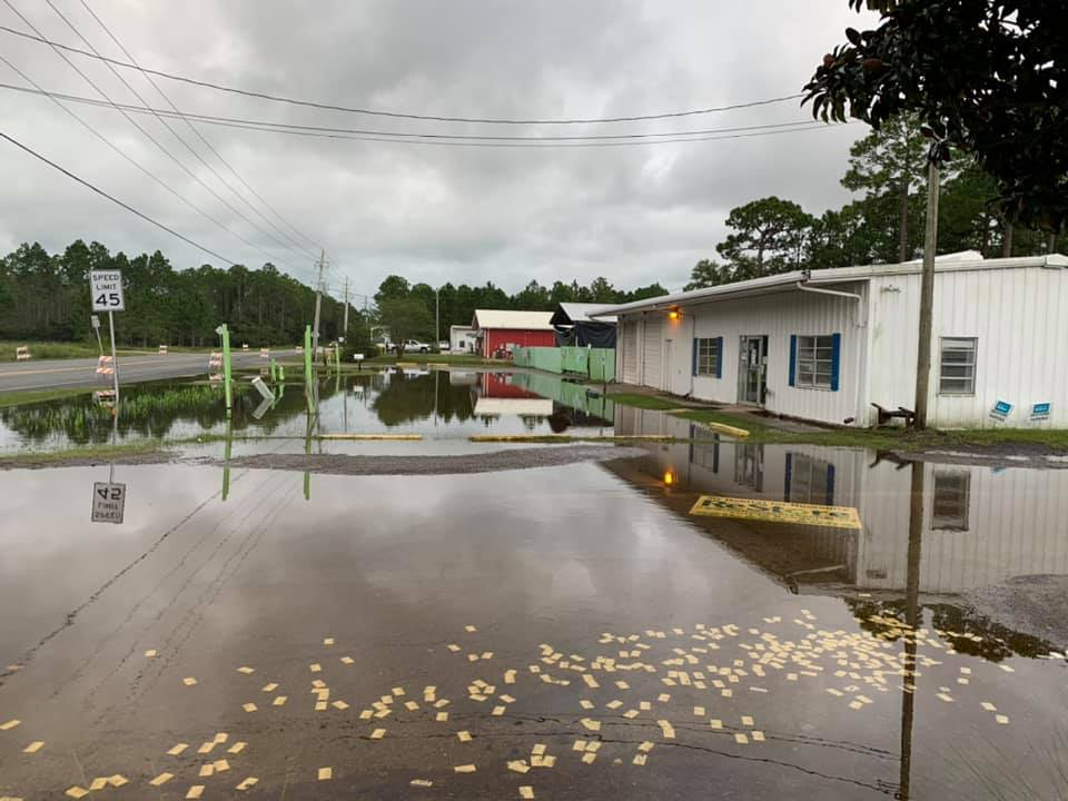 Walton County Habitat for Humanity ReStore Flooded During Sally