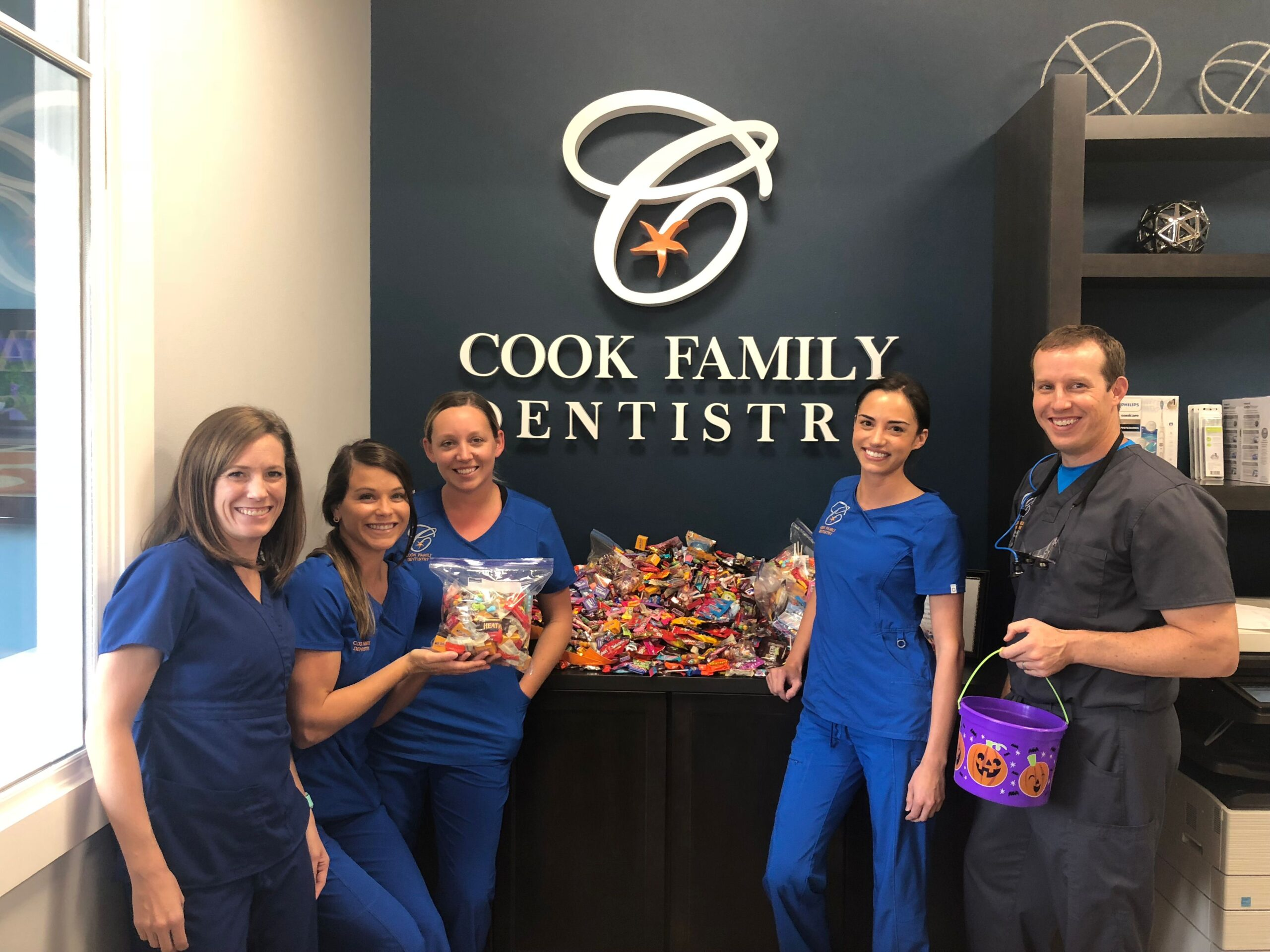 Local dentistry practice partners with Operation Gratitude through candy donations