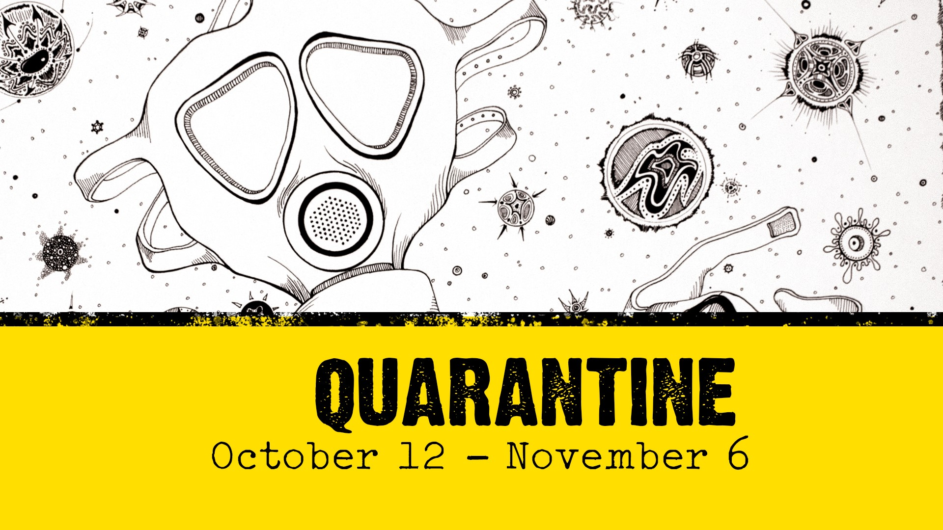 """GCSC presents """"Quarantine"""" a group exhibit that records and responds to the world of COVID-19"""