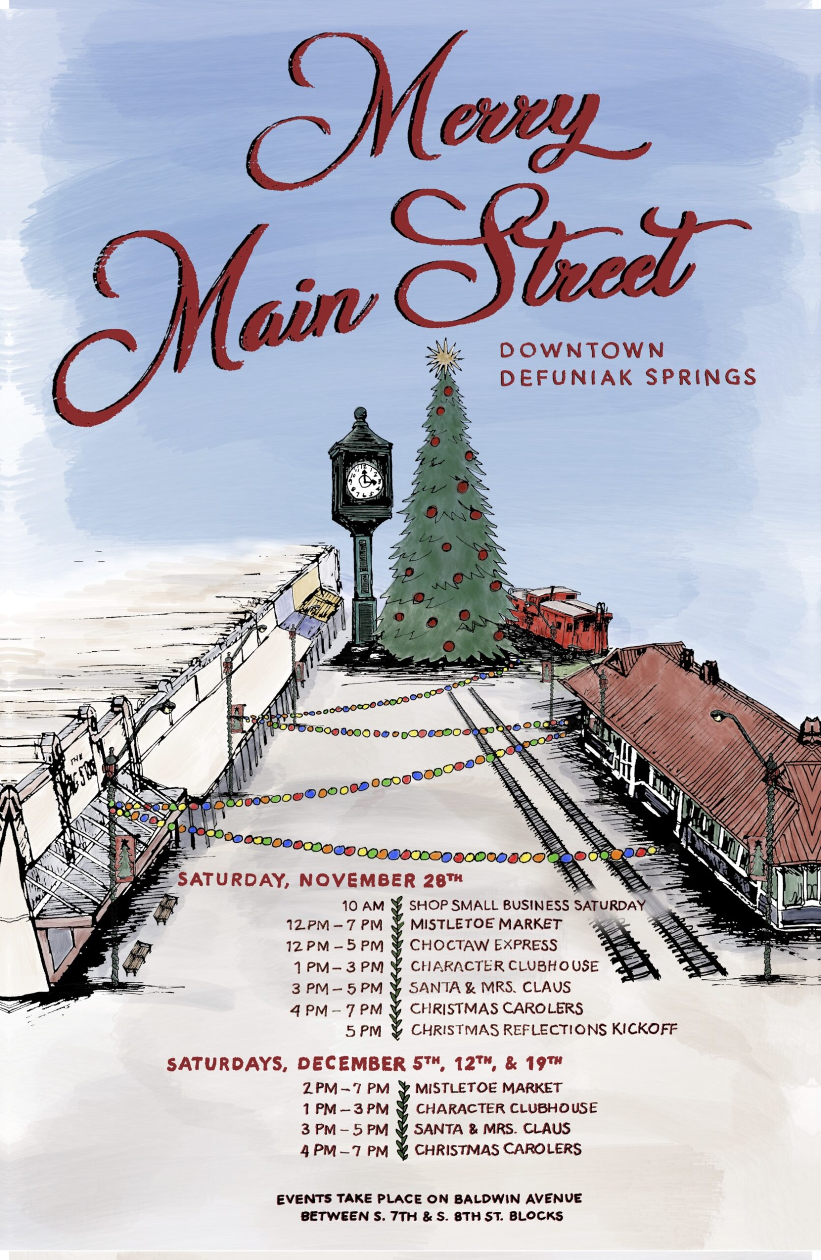 "Main Street DeFuniak Springs Hosts ""Merry Main Street"""