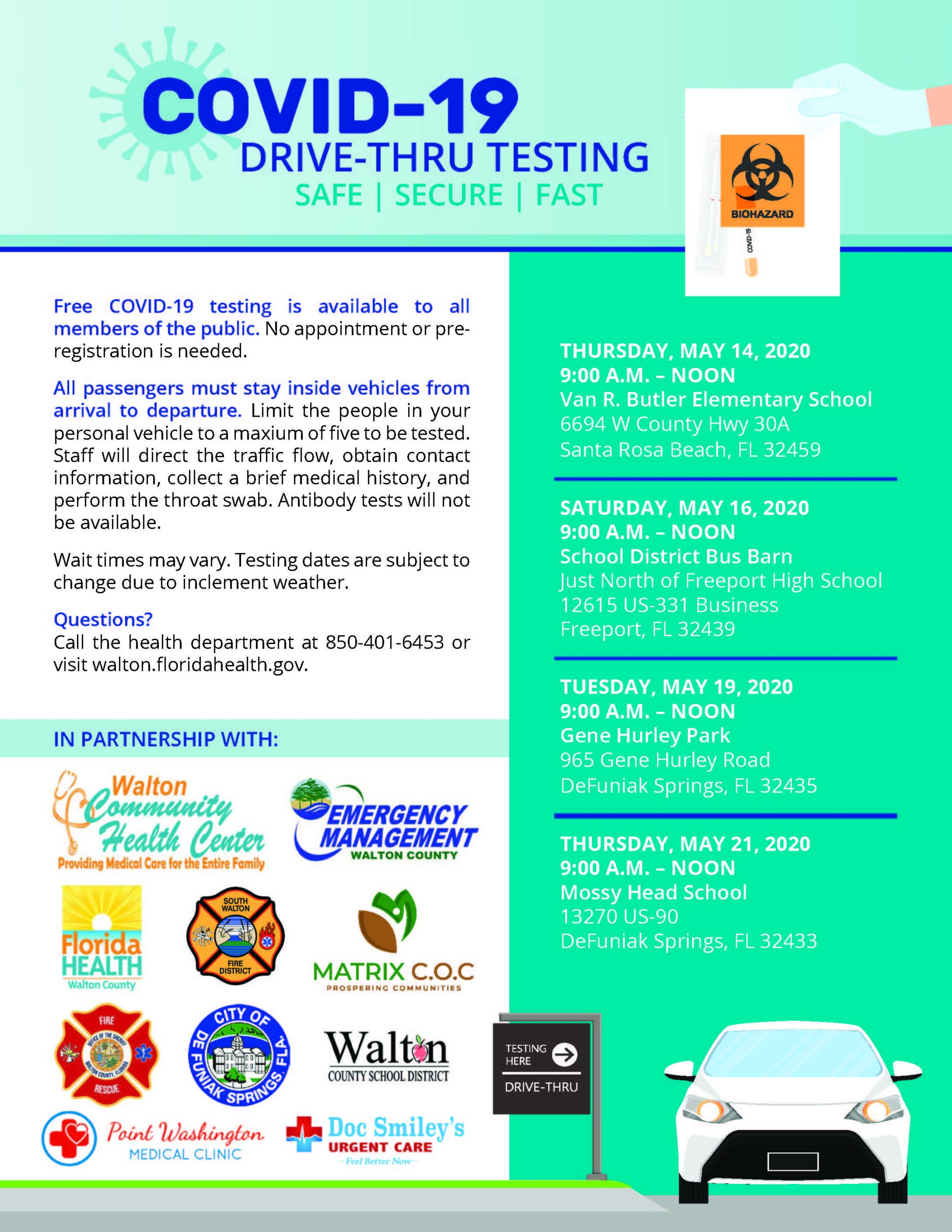 FREE Rapid COVID-19 Testing