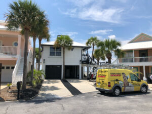 The experts at CertaPro Painters® of Northwest Florida completed this House Painting Project in Navarre, Florida.
