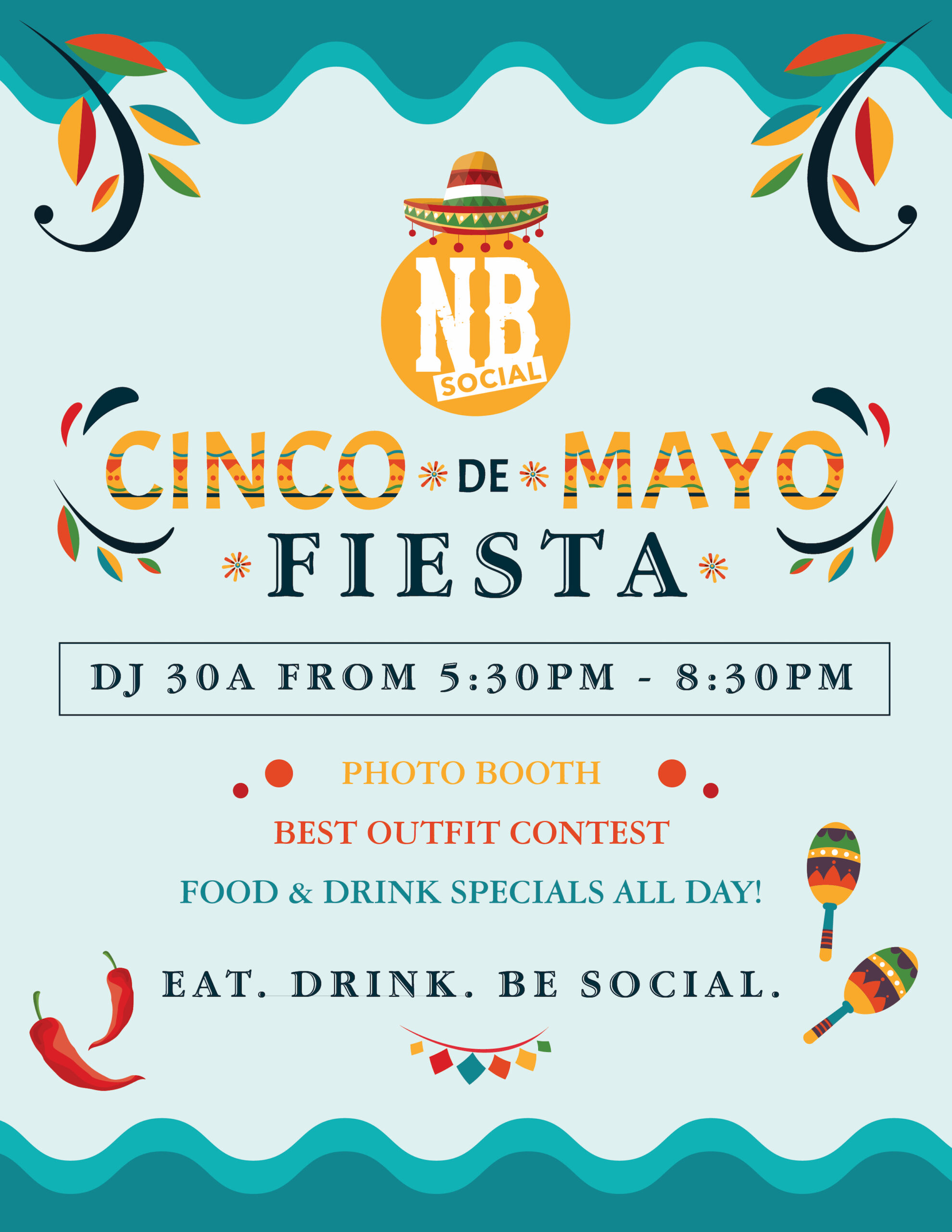 Cinco de Mayo All Day Fiesta at North Beach Social